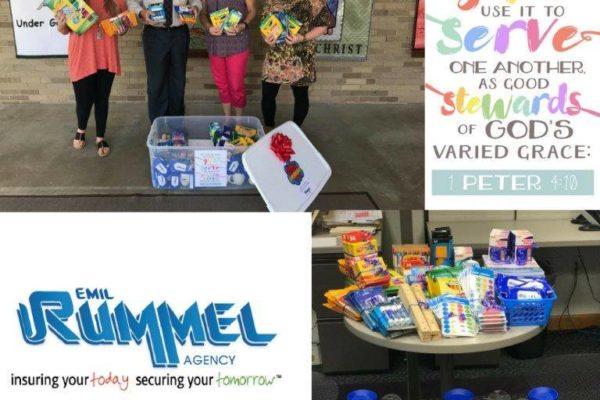 Teacher Appreciation week - St Lorenz - team rummel