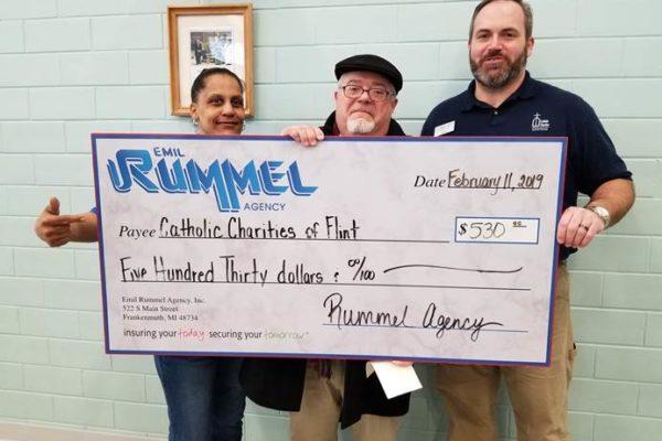 Catholic Charities Dec Jeans money